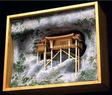 Woody JOE 1/75 Wooden Model Kit Mitokusan Sanbutsu-ji The Nageiri Hall Brand New