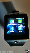 Montre Connectée DZ09 Bluetooth Smart Watch HTC Samsung Android Camera SIM SD