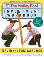The Motley Fool Investment Workbook [Motley Fool Books] [ Gardner, David ] Used