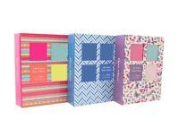 "Tallon 5"" X 7"" Designer  Photo Album with 100 Pockets -1130"