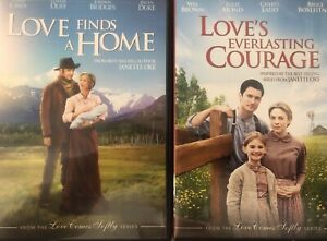 Love Finds A Home + Love's Everlasting  Courage DVD's