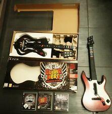 Set Guitar Hero Warrior Of Rock Metallica Beatles Rock band BOXED CIB SONY PS3