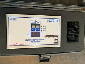 sun nuclear radon 1027 continuous radon monitor with case