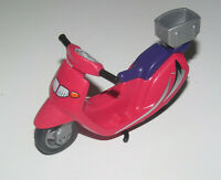 Playmobil Accessoire Personnage Moto Scooter Rouge NEW