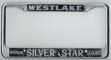 Westlake Los Angeles California SilverStar Buick GMC Vintage License Plate Frame