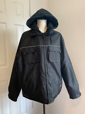 Tough Duck Mens Insulated  Jacket With Hood   (L/G),Made In China