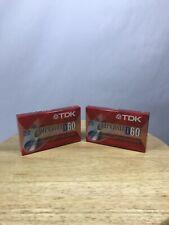 TDK Superior D60 2-Pack Cassette Tapes