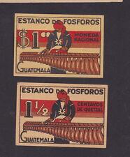 Ancienne   étiquette   Allumettes    Suède BN22174 Guatemala Musique