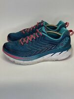 Hoka One One Clifton 4 Running Shoes Women Size 10 Teal And Purple