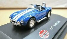 MODEL POWER 19224 SHELBY COBRA blue with white stripe HO scale 1:87 New