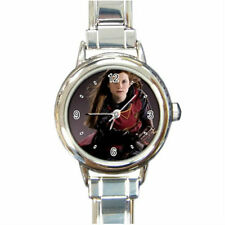 Harry Potter Ginny Weasley  watch (Round Italian Charm Watch wristwatch)