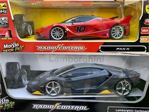 MAISTO FERRARI LAMBORGHINI FXX-K RC CAR 1/14-82412 Remote Control Sports Car Toy
