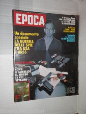 EPOCA Lee Oswald Segretario Craxi Dramma Moro Geoges marchais Giulio Tarro Belli