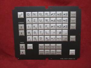 Fanuc A98L-0001-0568#TR Membrane Keysheet