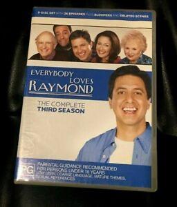 Everybody Loves Raymond : Season 3 (2008 :5 Disc DVD Set) Very Good Condition R4