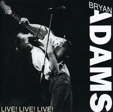 Bryan Adams - Live Live Live [New CD]