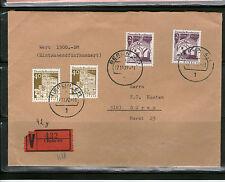 Gestempelte Briefmarken aus Berlin (1970-1979) mit Bauwerks-Motiv