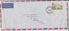 (MX98) 1979 GB FDC 11p air mail to USA