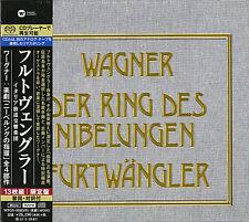 WILHELM FURTWANGLER-WAGNER: L'Anneau du Nibelungen-Japon 13 SACD hybride bp75