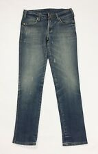 jeans donna usato borchie slim stretch denim w30 M tg 44 boyfriend T4037