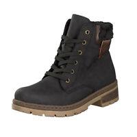 Rieker Stiefel Stiefeletten Boots Damen Schuhe schwarz 36-42 Y7418-00 Neu31