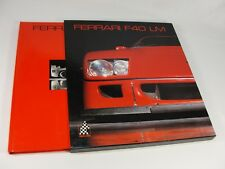 FERRARI F40 LM - CAVALLERIA BOOK NO. 5 BY DIEUDONNE, CARRIERI AND SAGE HARDBACK