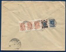 RUSSIA:  February 1923 RSFSR Commercial Inflation Cover to Germany