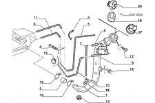 1480076080 - Raccordo FIAT Ulisse 1994/2002 LANCIA Z 1994/2002 Scudo 1995/2004