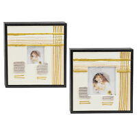 Pair Of Decorative Canvas Photo Picture Frames Art Kids Bedroom Nursery Hanging