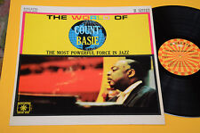 COUNT BASIE LP THE WORLD OF TOP JAZZ ORIG ITALY 1965 EX ! ROULETTE JOLLY