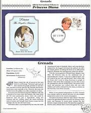 GRENADA PRINCESS DIANA MEMORIAL First Day Cover (3351)