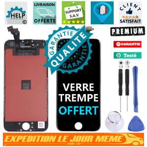 ECRAN LCD iPhone 6/S Plus NOIR BLANC VITRE TACTILE SUR CHÂSSIS
