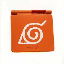 Naruto Totem Orange Shell Housing For Nintendo Game Boy Advance SP GBA SP