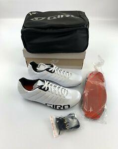 Giro Empire SLX Road Cycling Shoes Men's EU 39.5 US 7 White New