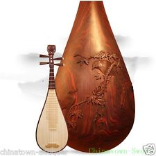 Liuqin - Chinese Soprano Pipa Lute Guitar Xinghai Musical Instrument #4137