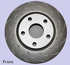 SLOTTED DISC BRAKE ROTORS FULL SET HOLDEN ADVENTRA ALL MODELS YEARS 12/2003-