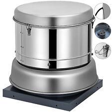 Restaurant Hood Roof Exhaust Fan 800Cfm High Speed For Kitchen 11�Blade