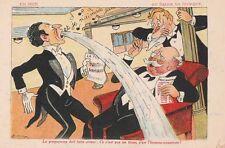 -Carte Postale ancienne illustrateur Marine Bateau en Mer S.TICK
