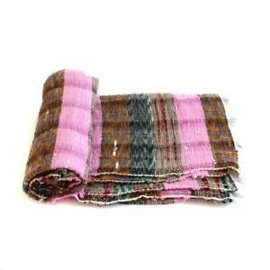 New Design Rectangular Hand Woven Chindi Rag Rug Handmade Floor Carpet Boho Mat