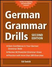 German Grammar Drills by Ed Swick (2012, Paperback)