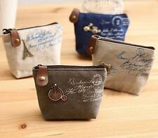Unbranded Canvas Wallets for Women's Coin Purses
