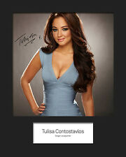 TULISA #4 10x8 SIGNED Mounted Photo Print - FREE DELIVERY