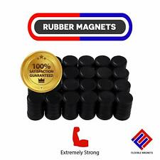Round Disc Rubber Magnets, Great for Crafts,Science Projects, Office, 0.6