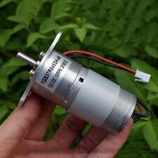 Dc 12v 100rpm Slow Speed High Torque Mini 37mm Electric Gear Box Reduction Motor