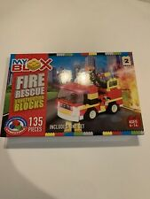 My Blox Fire Rescue Construction Blocks Compatible With Other Brands New in Box