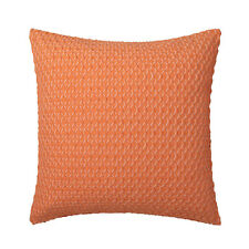 Logan & Mason Balmain Orange Trellis Square Filled Cushion 41 X 41cm