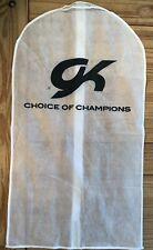 Gk Elite Leotard Garment Bag for Gymnastics Competition Leo White Zipper