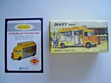 Atlas dinky 587 citroen philips camionnette sealed exc. cond. boxed. + cert.