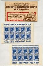 ALGERIEN 1938 geöffnetes CARNET **  (40691