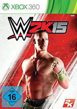 WWE 2K15 (Microsoft Xbox 360, 2014, DVD-Box)